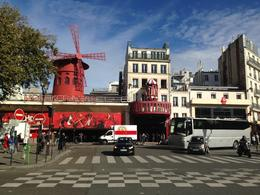 Photo of Paris Viator VIP: Moulin Rouge Show with Exclusive VIP Seating and 3-Course Dinner By Day the area is quite droll