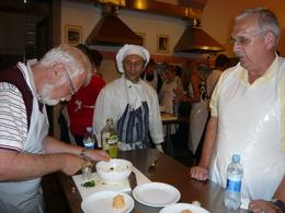 Photo of Florence Tuscan Cooking Class and Dinner in Florence Chef Marco Watchful Eye