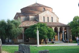 Photo of Venice Murano, Burano and Torcello Half-Day Sightseeing Tour church in Torcello