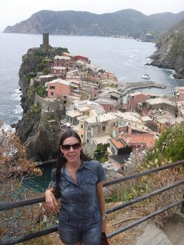 View of one of the towns of Cinque Terre, Graciella Cremonini - June 2010