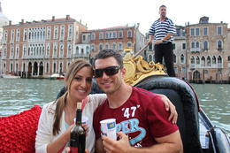 Photo of   cruising the grand canal