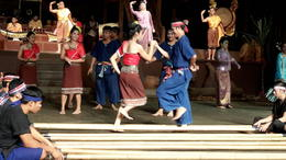 Photo of Bangkok Floating Markets and Rose Garden Cultural Center Day Tour from Bangkok Dancing from show