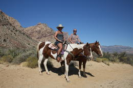 Photo of Las Vegas Morning Maverick Horseback Ride with Breakfast Enjoying a Peaceful Ride