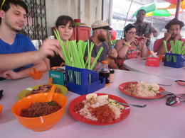 Photo of Kuala Lumpur Small-Group Food Trail Walking Tour in Kuala Lumpur lunch in little India