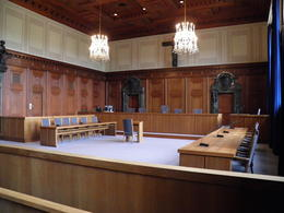 Nuremberg Trials courtroom , Stephen P - June 2012