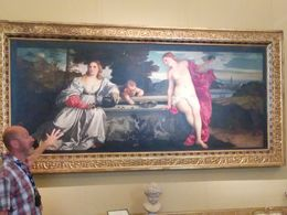 Titian's Sacred and Profane Love. Despite aching feet and a cultural overload, it was well worth experiencing. , johnhaddock57 - September 2015