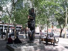 Totem pole, Pioneer Square, Seattle - August 2011