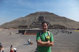 Photo of Mexico City Teotihuacan Pyramids and Shrine of Guadalupe Pyramid of Sun