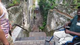 This is a view of the Queen's Staircase from the top looking down. , David M - June 2014