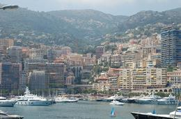 From the shore seeing the streets of Monaco and imagining the Grand Prix - July 2010