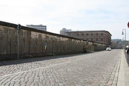 This is a remnant of the wall that once divided East and West Berlin., Stephanie G - April 2010
