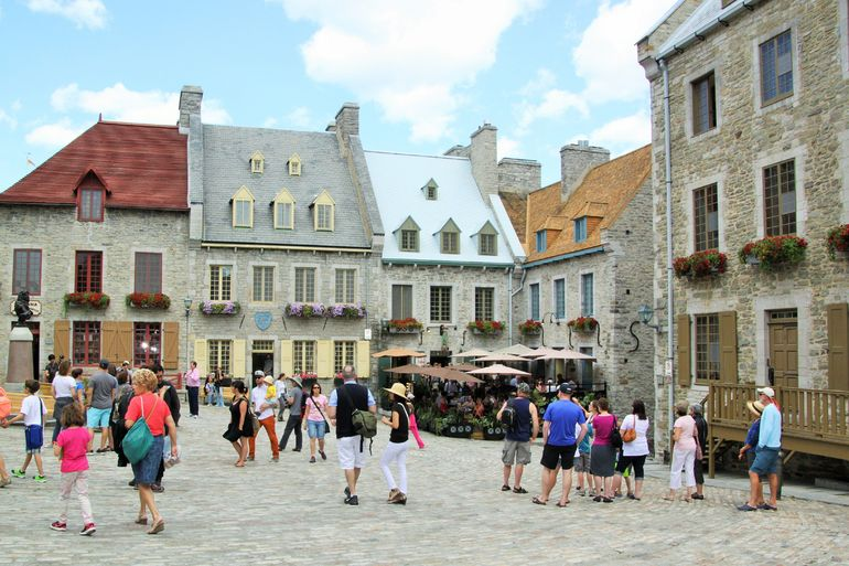 The Square of Lower Quebec