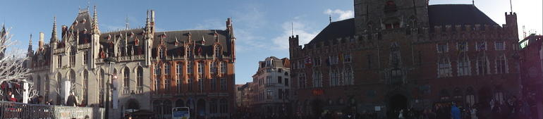Town square - Amsterdam