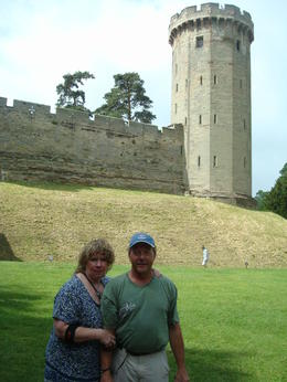 Lori and Brant Gimmeson at Warwick Castle , Brant G - July 2013