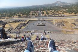 Photo of Mexico City Teotihuacan Pyramids and Shrine of Guadalupe A view from the top
