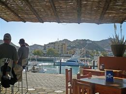 One of Many Harborside Cafes Overlooking Cabo San Lucas Marina - March 2008