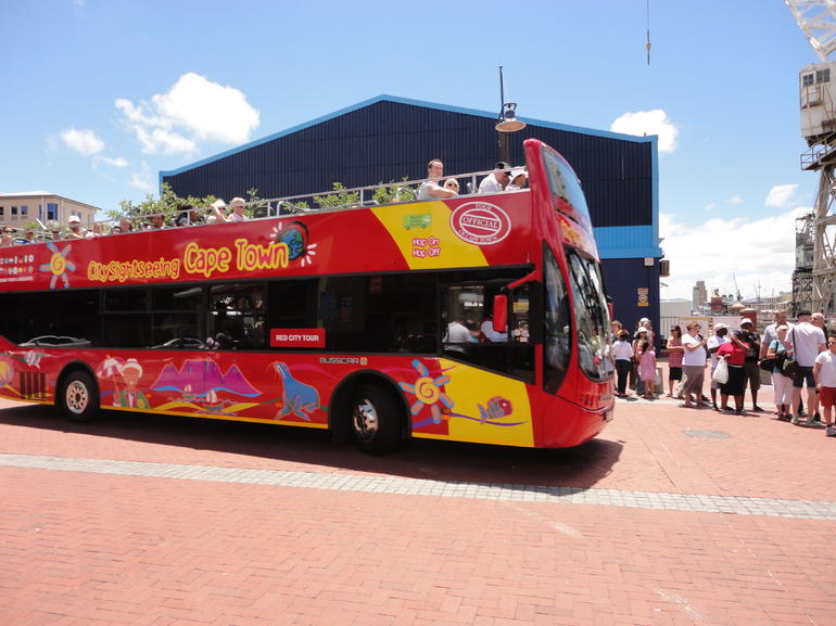 Cape Town Hop On Hop Off Bus - Cape Town
