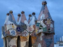 Just one of Gaudi's Barcelona masterpieces., ROD C - November 2008