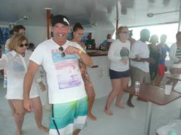 Photo of Philipsburg Anguilla Day Trip from St Maarten: Catamaran Sail with Snorkeling at Shoal Bay Dance Party