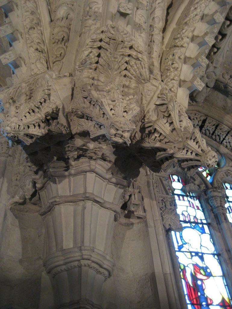 Inside Rosslyn Chapel Sept 09 - Edinburgh