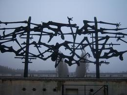 Photo of Munich Dachau Concentration Camp Memorial Small Group Tour from Munich Iron rememberance