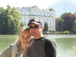 Photo of Salzburg The Original Sound of Music Tour in Salzburg Leopoldskron Castle and Lake