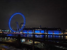 Foto van Londen London Pass London Eye at night