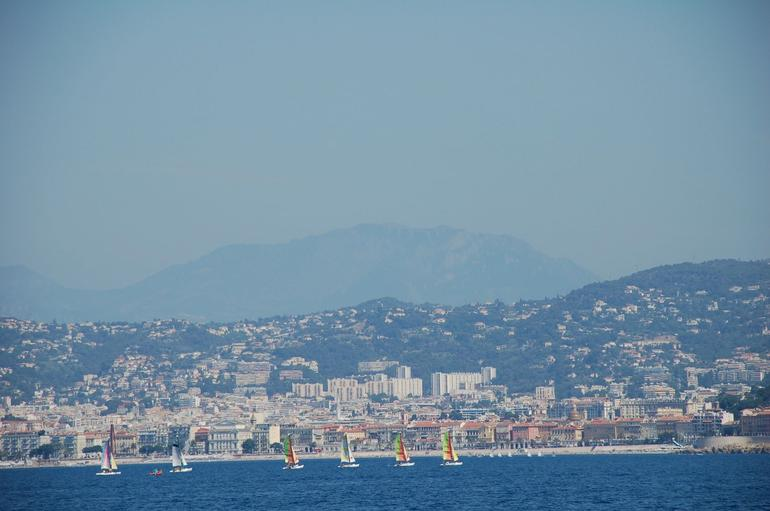 Monaco from the boat - Nice