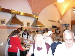 Photo of Florence Tuscan Cooking Class and Dinner in Florence Nice kitchen for the tour!