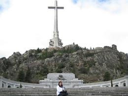 Photo of Madrid El Escorial Monastery and the Valley of the Fallen from Madrid Nice Shot