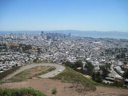 Photo of San Francisco San Francisco Deluxe Half-Day City Tour Panaramic view from Seal Rock stop