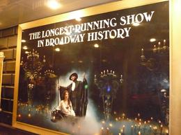 Photo of New York City Phantom of the Opera On Broadway Placard