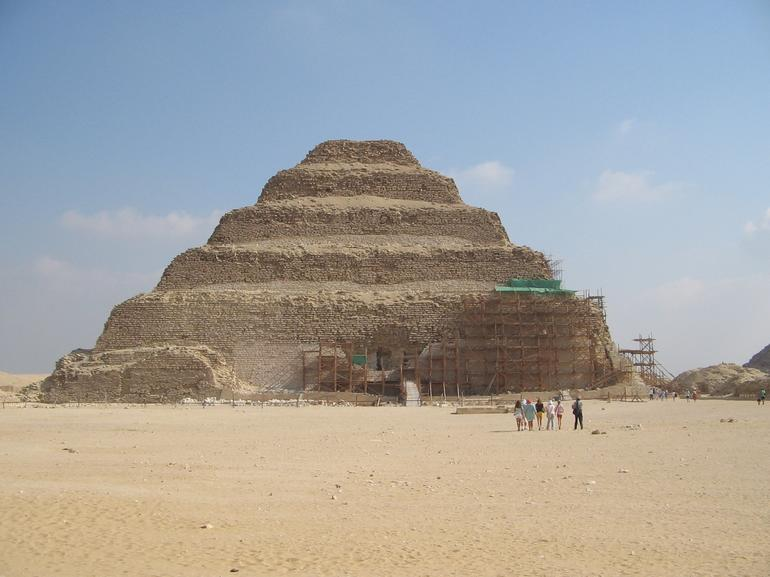 PYRAMID OF ZOSER AT SAKKARA - Cairo