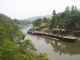 Photo of   River Kwai from the train.