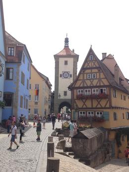 The entrance to Rothenburg , Lauren M - August 2014