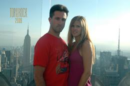 John and Linda Murphy on the Top of the Rock early evening on beautiful day in August., Linda M - September 2009
