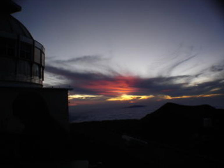 Totally clear at Sunset - Big Island of Hawaii