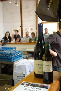 Yering Station tasting, Ann Christin V - December 2009