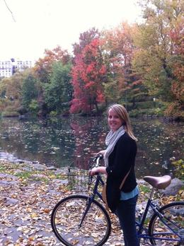 The fall colors were beautiful biking through the park!, KellyD - November 2012