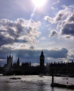 Photo of   Big Ben, Westminster, River Thames