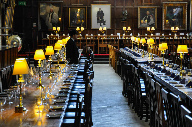 Christ Church, Oxford. Hogwarts. - London