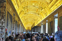 Photo of Rome Skip the Line: Vatican Museums, Sistine Chapel and St Peter's Basilica Half-Day Walking Tour Corredor de los tapices