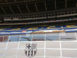 Barça's stadium, Rosane - August 2013