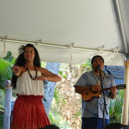Show at Hawaii Villiage. , Audra S - July 2012