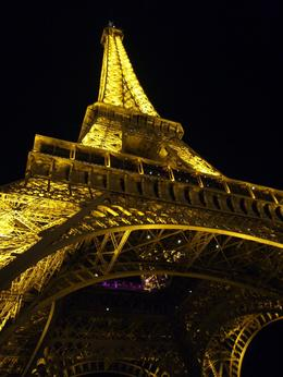 Eiffel Tower after dinner. - March 2008