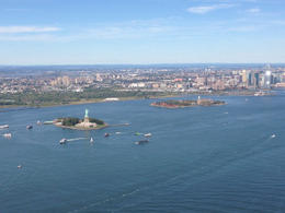 Photo of New York City Manhattan Sky Tour: New York Helicopter Flight Lady Liberty and New Jersey