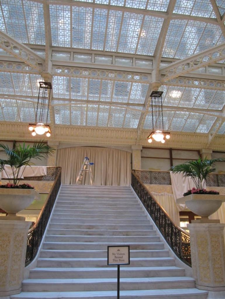 Light court in The Rookery - Chicago