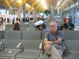 Photo of Barcelona Barcelona Hop-on Hop Off Tour: North to South Route Me waiting