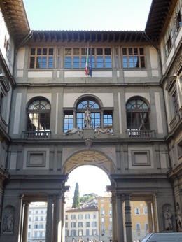 Photo of Florence Skip the Line: Florence Uffizi Gallery Tickets Outside Uffizi Gallery