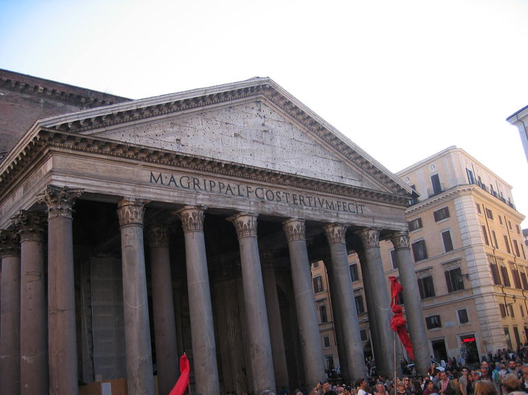 Front of Pantheon